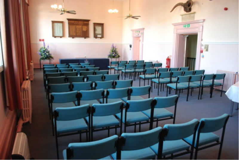 The Main Hall in Melksham Town Hall